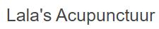 Lala's Acupunctuur